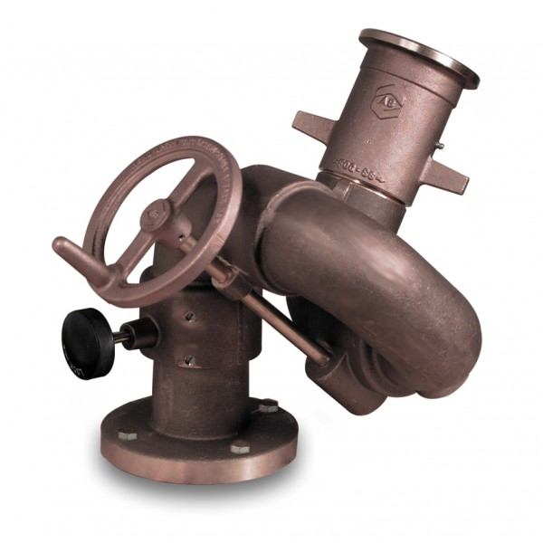 """Aries Monitor 4"""" flange x 2.5"""" NH outlet, monitor only, FM Approved"""