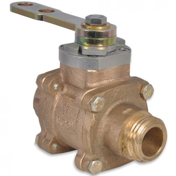 "1"" Swing-Out Valve (Body Only) with Fusion CF ball"